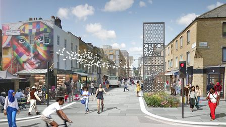 How Church Street may look after development Picture: Westminster City Council