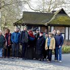 The Clapton Commons group outside the dilapidated loo last year. Picture: Kristen Perers
