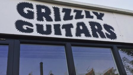 Grizzly Guitars in Hackney Road. Picture: Grizzly Guitars