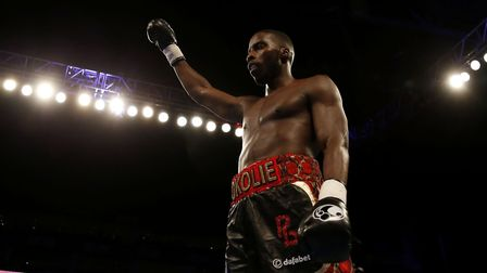Lawrence Okolie will fight in Cardiff on Saturday (pic: Paul Harding/PA)