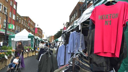 Hoxton Street Market has now got 50 stallholders but shoppers and regular traders say it's 'dying'.
