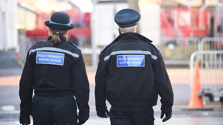 Local police numbers have been on the decline since 2012 in Suffolk. Picture: Archant library.