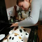 Nadine makes cakes for every occasion from her home in Homerton. Picture: Bryony Close