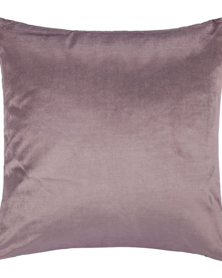 Make It Mellow & Moody: A by Amara Velvet Cushion, heather, �50