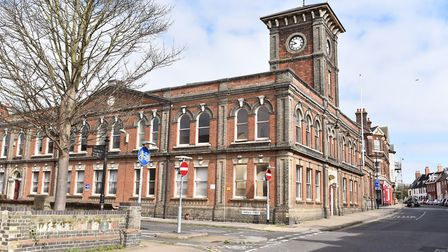 The empty Town Hall in Lowestoft. Picture: James Bass