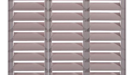 These Louvred shutters can be painted in a heart Wood shade on request, �299, Shutterly Fabulous