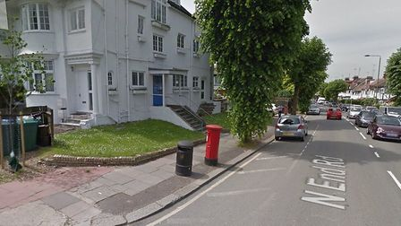 The mutilated cat was found on Park Drive, at the junction of North End Road in Golders Green Pictur