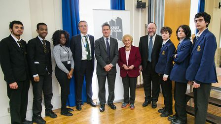 Sir Keir Starmer MP on a school visit. Picture: YAKIR ZUR