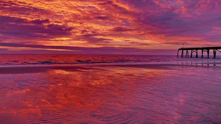 Janice Tillett's stunning sunrise photo has been crowned The Journal's Picture of the Week. Photo: J