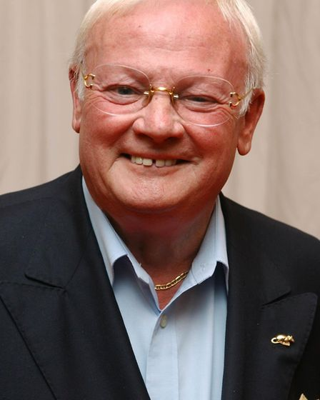 Actor John Inman left his home to his civil partner