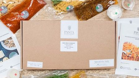 A Pasta Evangelists delivery box
