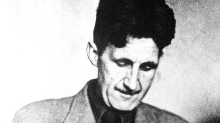 """Author Eric Arthur Blair, better known by his pen-name, """"George Orwell""""."""