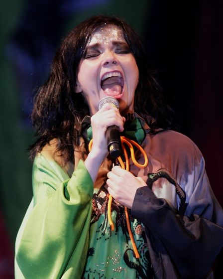 Bjork, pictured in 2007, will headline the Sunday night at All Points East in Victoria Park. Picture