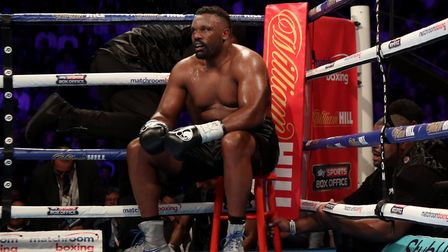 Finchley boxer Dereck Chisora (pic: Peter Byrne/PA)