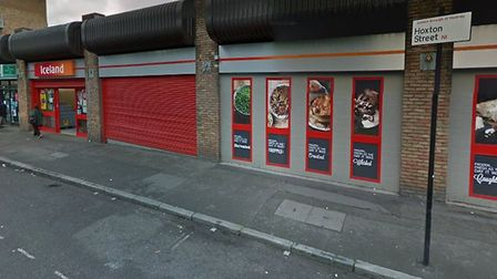 Iceland in Hoxton Street is staying for the time being. Picture: Google Maps
