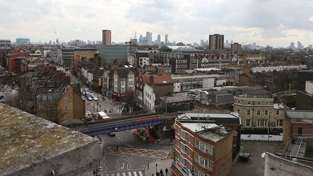 A view of Hackney looking towards the town hall in Mare Street. Hackney Council is consulting on inc
