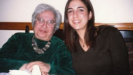 Mavis Hyman with her daughter Miriam who was killed in the 7/7 London bombings in 2005. Picture: MAV