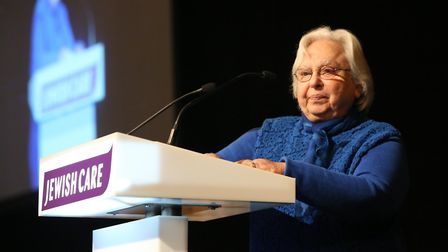 Mavis told an audience of about 700 that an award from an organisation which leads by example of wha