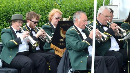 Wrentham Band performing at a previous concert. Pictures: MICK HOWES