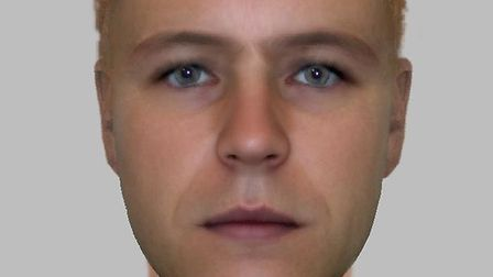 Officers have released an E-fit of a man they are trying to find after an 87-year-old woman was conn
