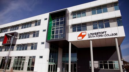 Lowestoft Sixth Form College. Picture by Sophie Laslett.
