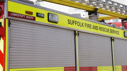 Suffolk Fire and Rescue Service. Picture: Nick Butcher