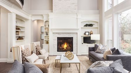 Many older homes have chimney breasts, offering a great opportunity for storage in the alcoves