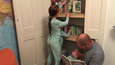 With three kids and all the kit they come with, my shelves are often overloaded, says Richard