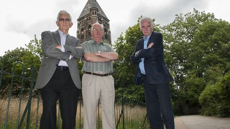 Campaigners against Royal Free building Jeff Gold,Michael Taylor & Chris Fagg