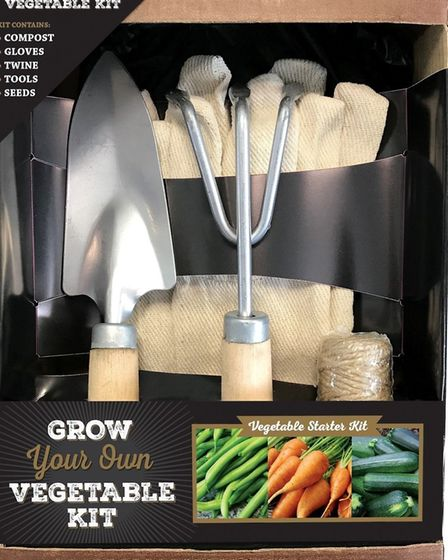 Start your own veggie plot with this garden market kit