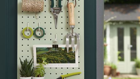 This pegboard is a perfect stocking filler for gardeners that are always misplacing their tools!