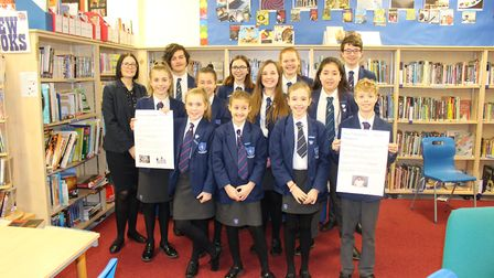 A group of year 7 students from Pakefield High School will be taking part in a 'sleepout' to raise a