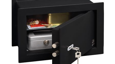 Wall safes are easy to install and with a picture over the front of them, they are nearly impossible