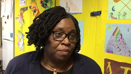 Parnet and mother of four, Kome Awoasu, from African Community School. Picture: Hackney Council