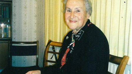Betty Layward who died in 1998