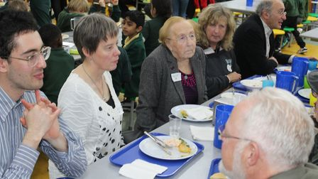 Betty Layward's favourite lunch was served at a celebration of the day that would have been her 100t