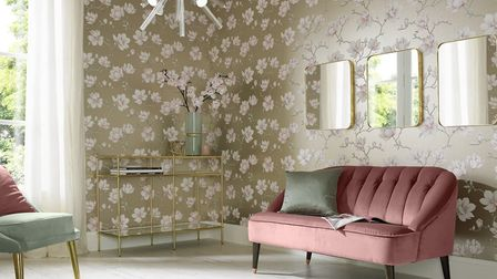 Graham & Brown's 'Wallpaper of the Year' for 2018, Pierre, currently from �40 to �32 a roll