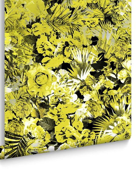 Vixen Couture Wallpaper from a collection by Julien Macdonald, made to order from �180 per roll, Gra
