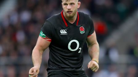 Saracens lock George Kruis played for England against Argentina last Saturday, but has been released