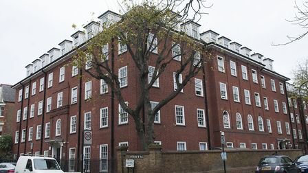The laundry room has been shut at England's Lane Hostel for five years