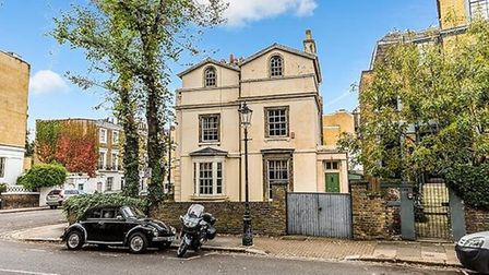 Alan Bennett's Gloucester Crescent house featured in The Lady in the Van is up for sale