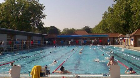 The London Fields Lido was closed all summer for repairs - and they still aren't finished.