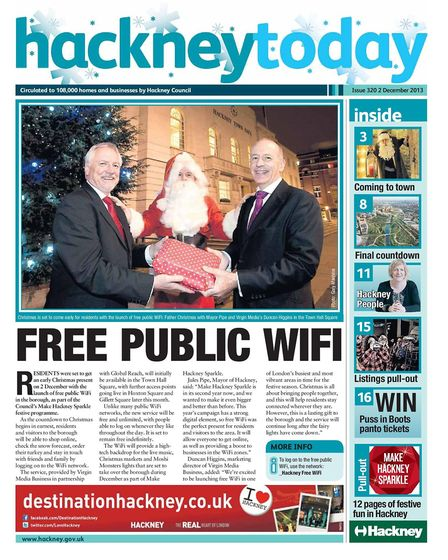 Hackney Today, Town Hall's newsletter