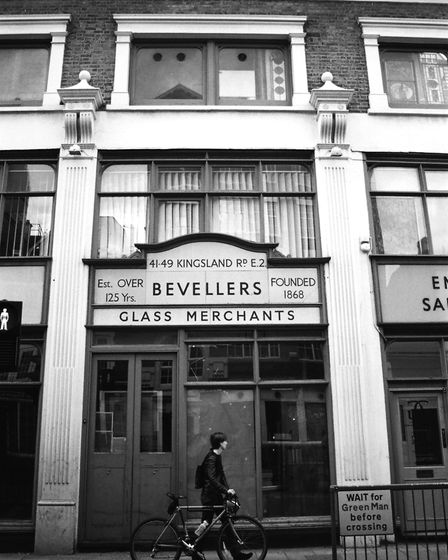 The old studio in Kingsland Road, where GreatArt is now situated. Picture: Ginger Ferrell