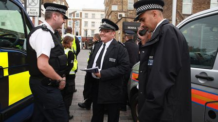 Hackney has lost 1 in 4 of its officers since 2010.