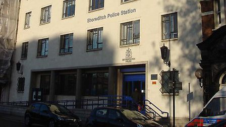 Shoreditch police station could close. Picture: Oxyman/Geograph (CC BY-SA 2.0)