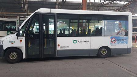 At least three Camden Council buses were found to be on the road from April to July this year withou