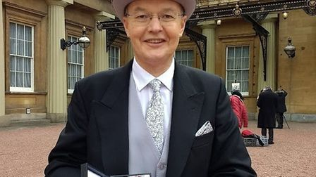 Dr Carl O'Brien has been made a Commander of the Order of the British Empire (CBE). Photo: Joaquina