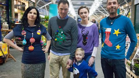 Love Your Clothes is hosting a free festive themed workshop in Hackney.