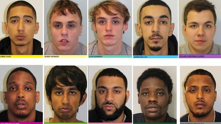 A moped gang has been found guilty after a string of smash and grab raids on mobile phone shops. Top